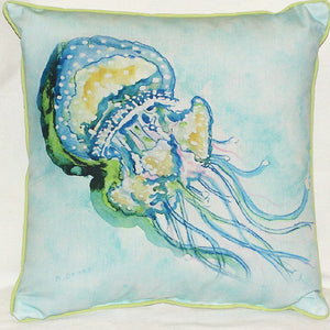 Jelly Fish Outdoor Pillow