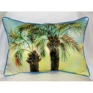 Betsy's Palm Trees Outdoor Pillow