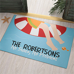 Summer Fun Personalized Doormat