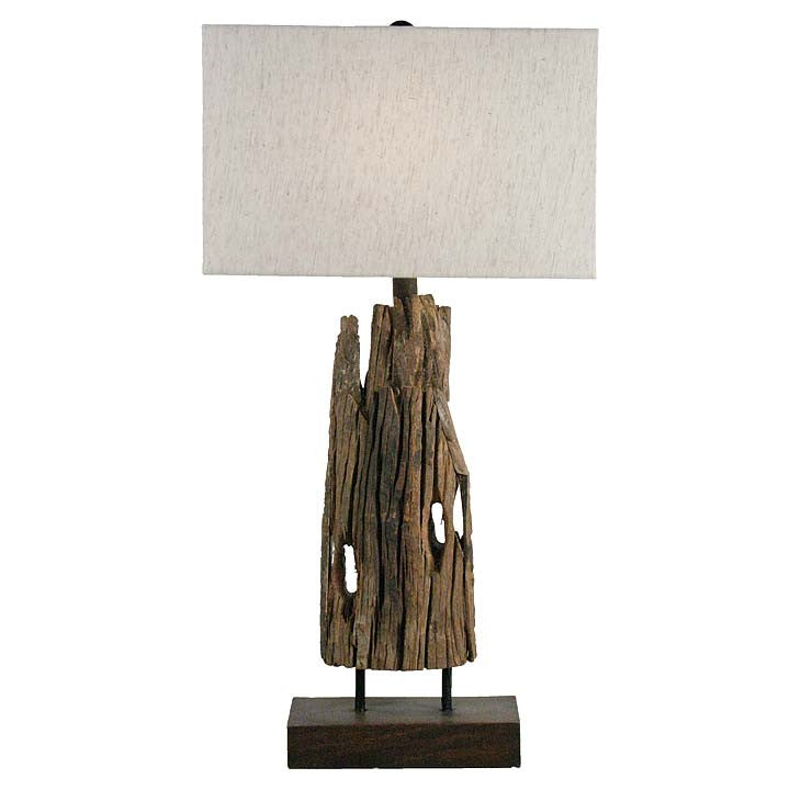 Reclaimed Driftwood Table Lamp