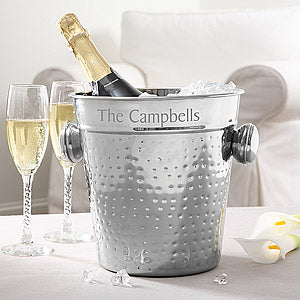 Personalized Ice Bucket & Chiller