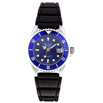 Women's Dive Watch with Blue Face