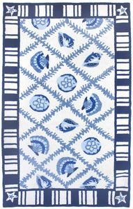 Navy Blues Area Rug
