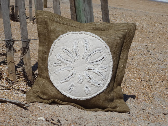 Sand Dollar Sea Pillow