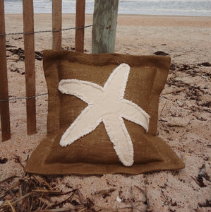 Starfish Pillow-Nautical Decor and Gifts