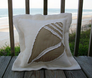 Conch Sea Pillow