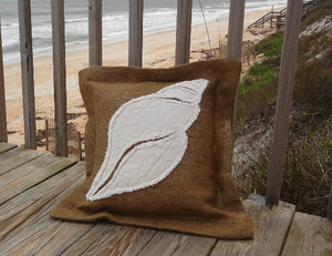 Dove Snail Pillow
