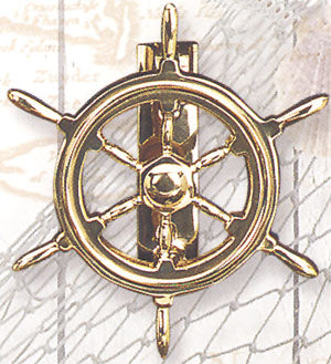 Ship Wheel Door Knocker-Nautical Decor and Gifts