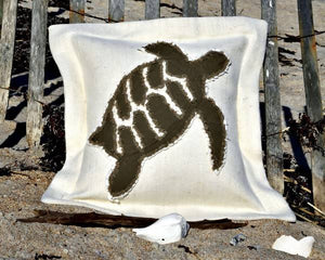 Hawksbill Turtle Sea Pillow