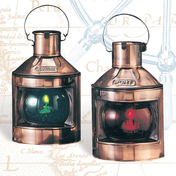 Port and Starboard Oil Lamps