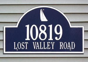 Sailboat Arch Plaque
