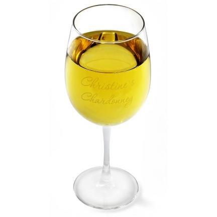 White Wine Glasses - Set of Four