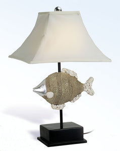 "24"" Fish Lamp-Coastal House Lamps & Lighting-Nautical Decor and Gifts"
