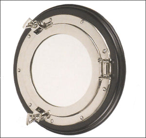 "11.5"" Aluminum Porthole Mirror-Nautical Decor and Gifts"