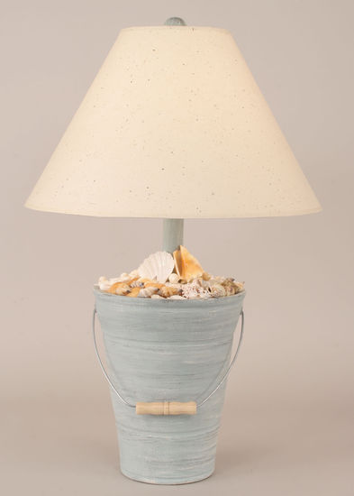 Bucket of Shells - Cottage Seamist