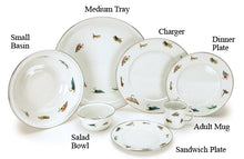 Fly Fish Enamel Dinnerware-Out of Stock