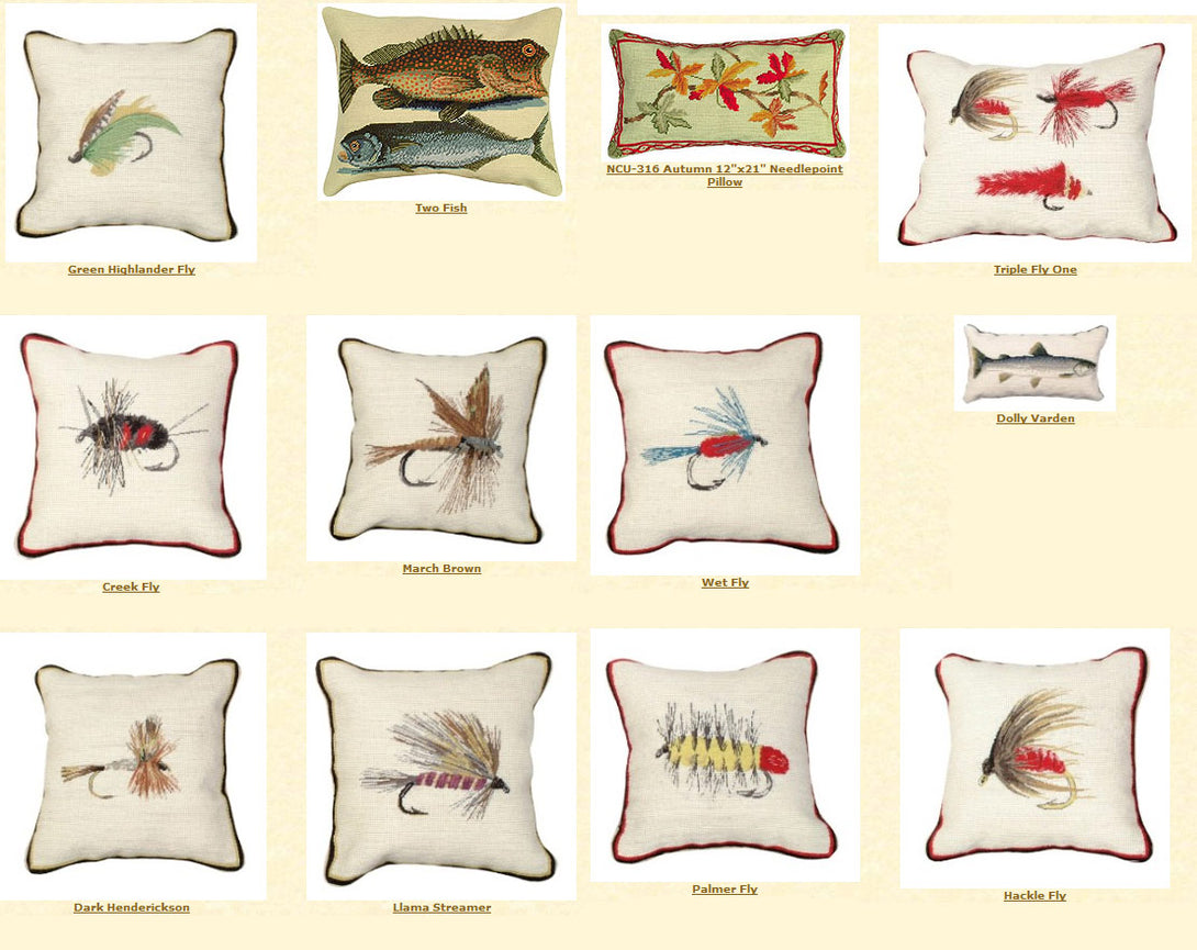 Fishing Flys Pillows