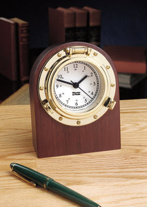 Nautical Porthole Desk Clock