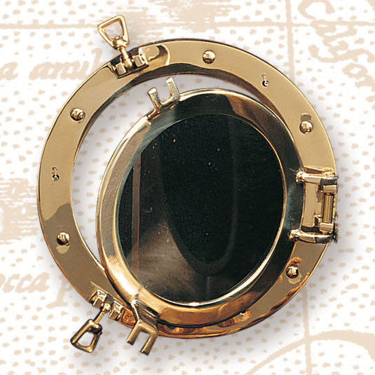Clear Porthole Windows-Nautical Decor and Gifts