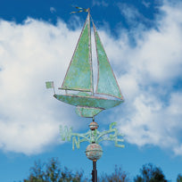 Sailboat Weathervane-Nautical Decor and Gifts