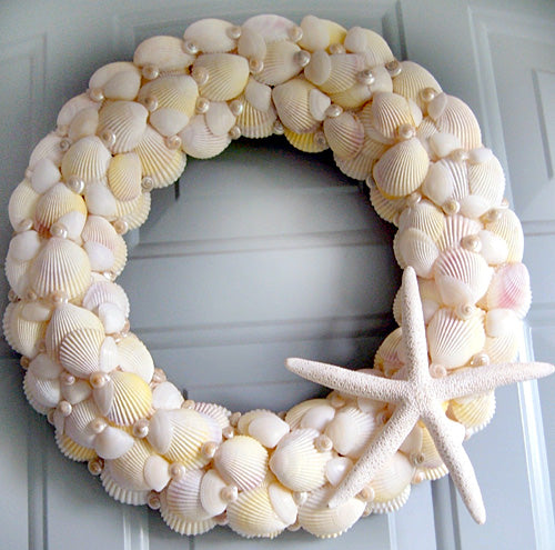 Sunshine Seashell Wreath