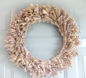 Turitella Galore Seashell Wreath