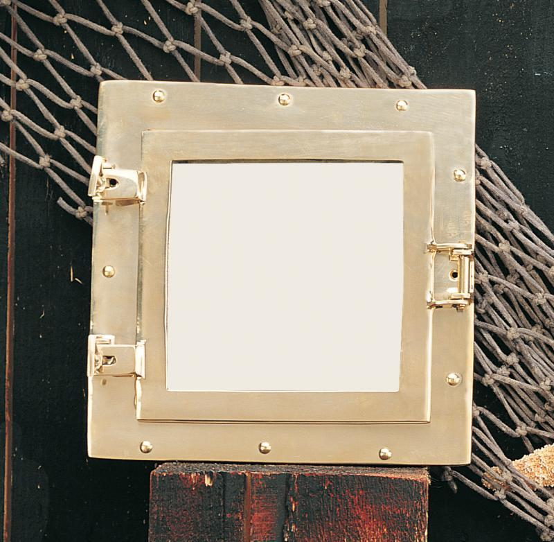 Square Porthole Mirror