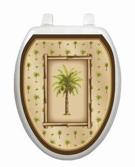 Bahama Breeze Toilet Lid Tattoo-Nautical Decor and Gifts