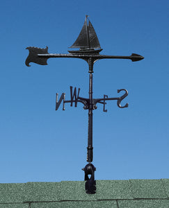 "30"" Sailboat Accent Weathervane-Nautical Decor and Gifts"