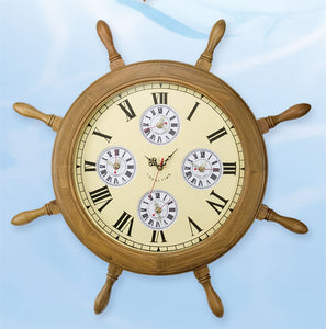 Shipwheel World Clock