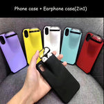 Protection case for AirPods & iPhone