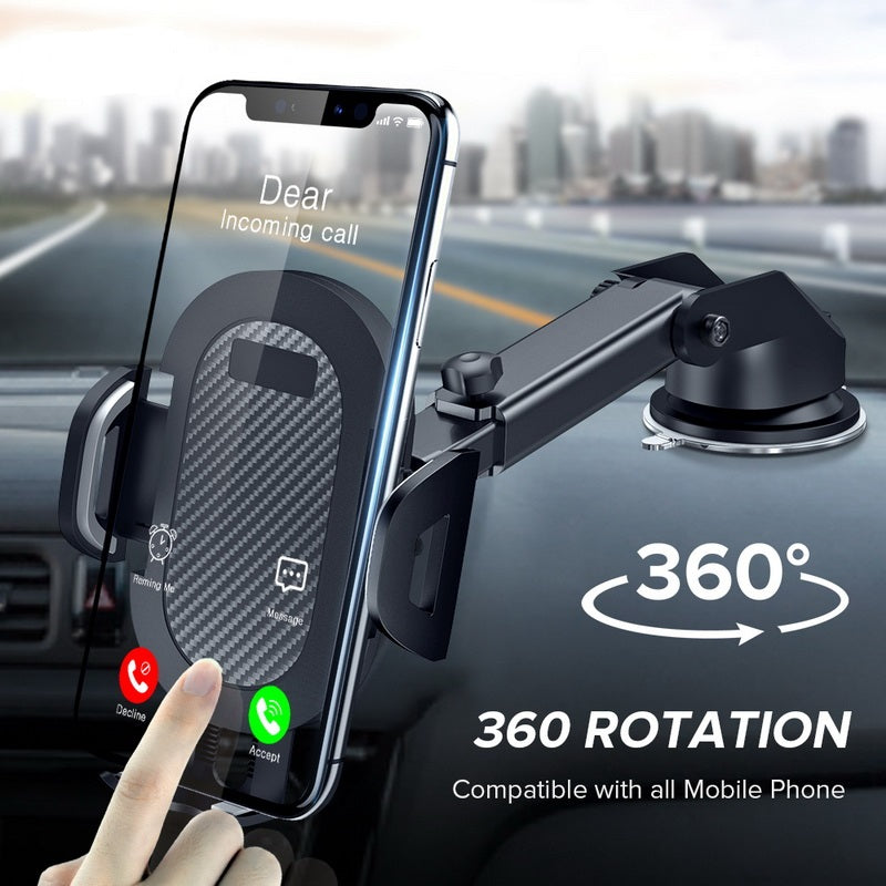 Sucker Car Phone Holder 360