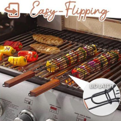 FREE SHIPPING For TODAY -Barbecue Skewer Basket