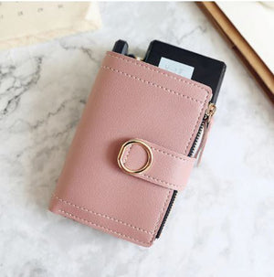 Small Leather Women Wallet