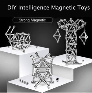 DIY MAGNETIC STICKS AND BALLS