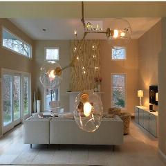 Bubble Glass Chandelier - BLVCKBEAUTY