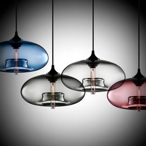 Colourful Minarett Glass Lamp - BLVCKBEAUTY