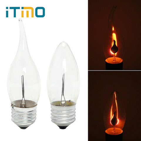Flame Fire Bulb Lighting - BLVCKBEAUTY