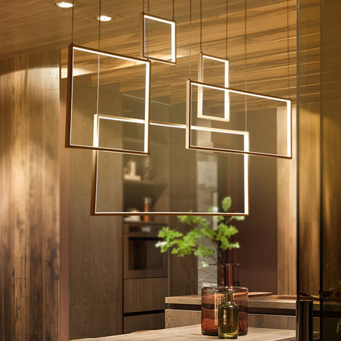 Suspension LED Pendant Lamp Fixtures - BLVCKBEAUTY