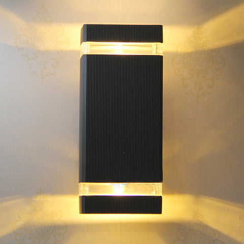 Black LED Wall Lighting - BLVCKBEAUTY