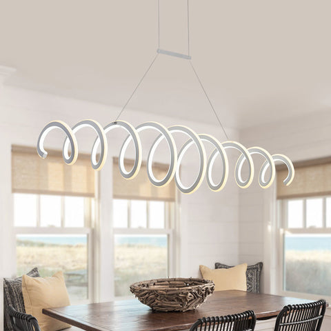 Double Glow Led Pendant Lights - BLVCKBEAUTY