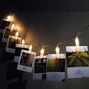 Photo Clip String Light - BLVCKBEAUTY