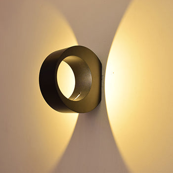 Circle Wall Mounted Lights - BLVCKBEAUTY