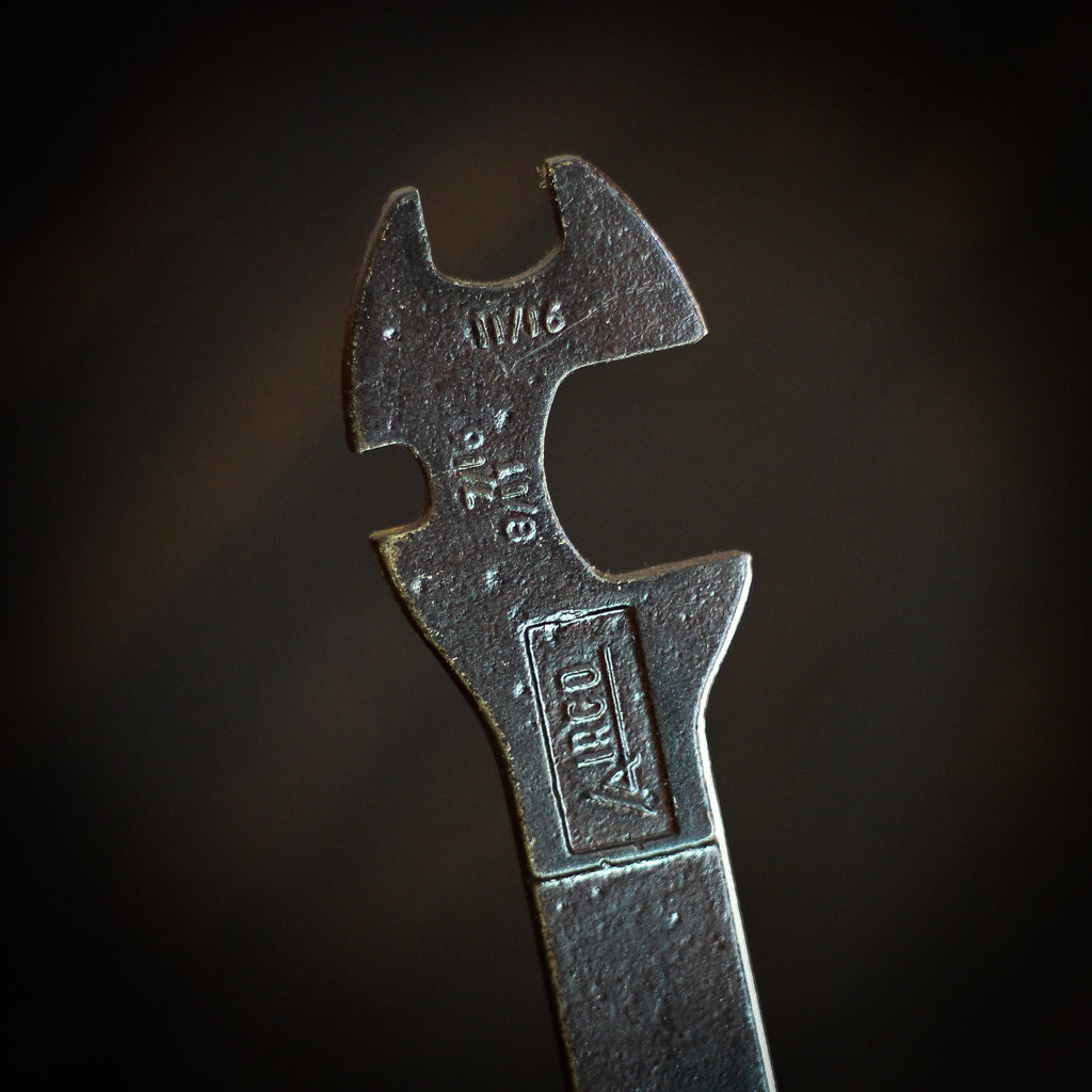 Beer Tap Handle: Vintage Airco Welder's tool