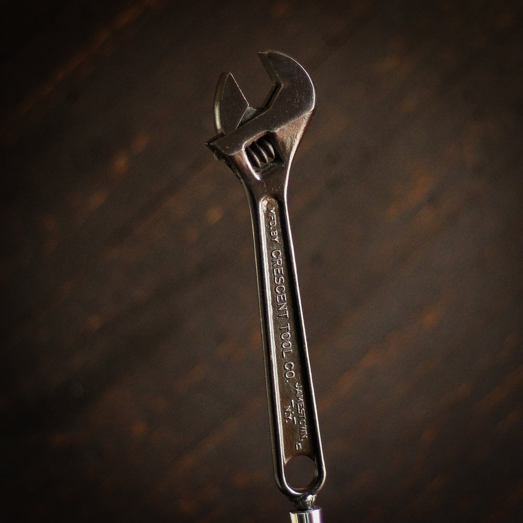 Beer Tap Handle: Vintage Crescent Wrench