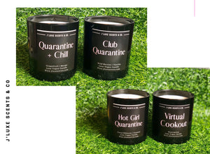 Club Quarantine Candle Collection