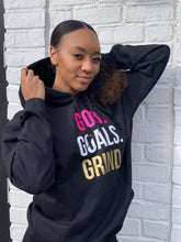 Load image into Gallery viewer, God Goals Grind Hoodie