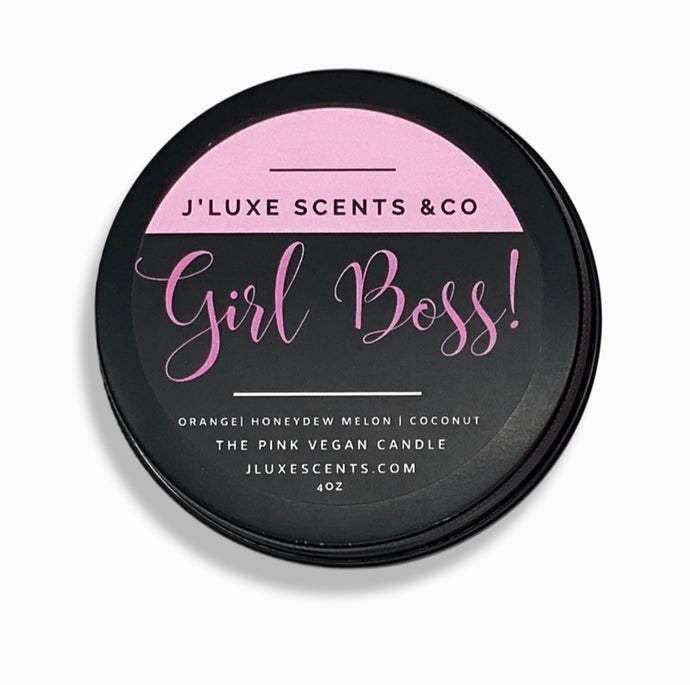 J'Luxe Scents Girl Boss Candle