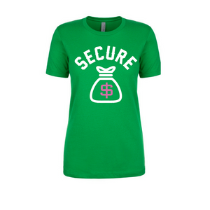 """Secure the Bag"" Tee - Green"