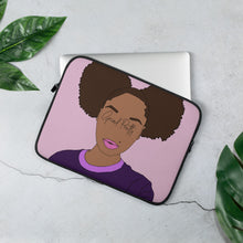 Load image into Gallery viewer, Grind Pretty Laptop Sleeve - Pretty Puffs